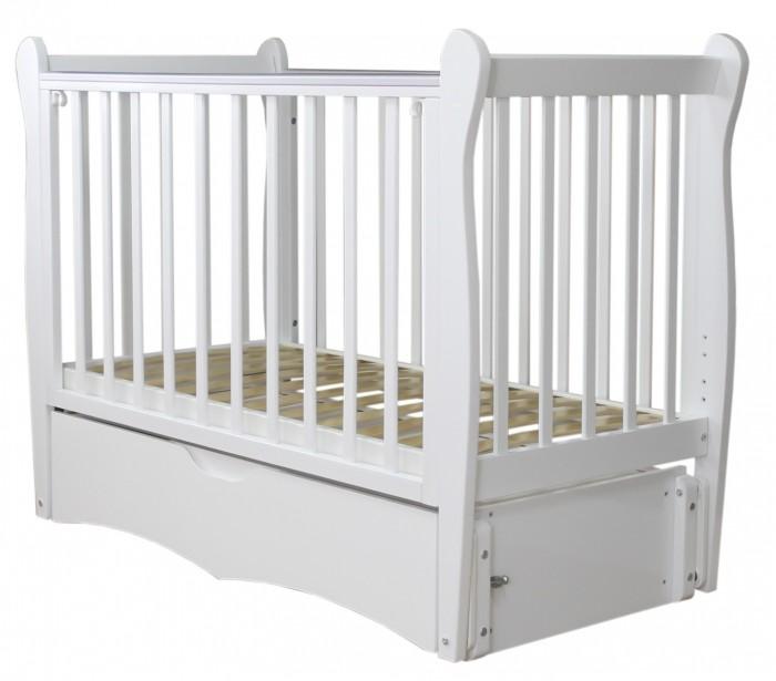 Детская мебель , Детские кроватки Можга (Красная Звезда) Сибирочка продольный маятник арт: 362493 -  Детские кроватки