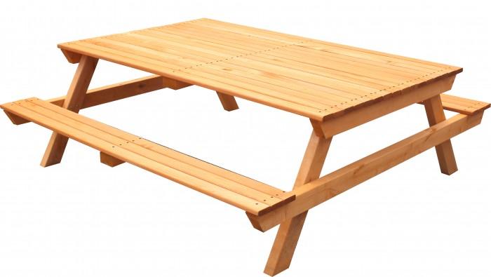 Купить Детские столы и стулья, Можга (Красная Звезда) Стол-скамейка Можга Красная Звезда Р943.2