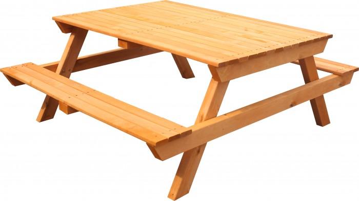 Детские столы и стулья Можга (Красная Звезда) Стол-скамейка Р943.1