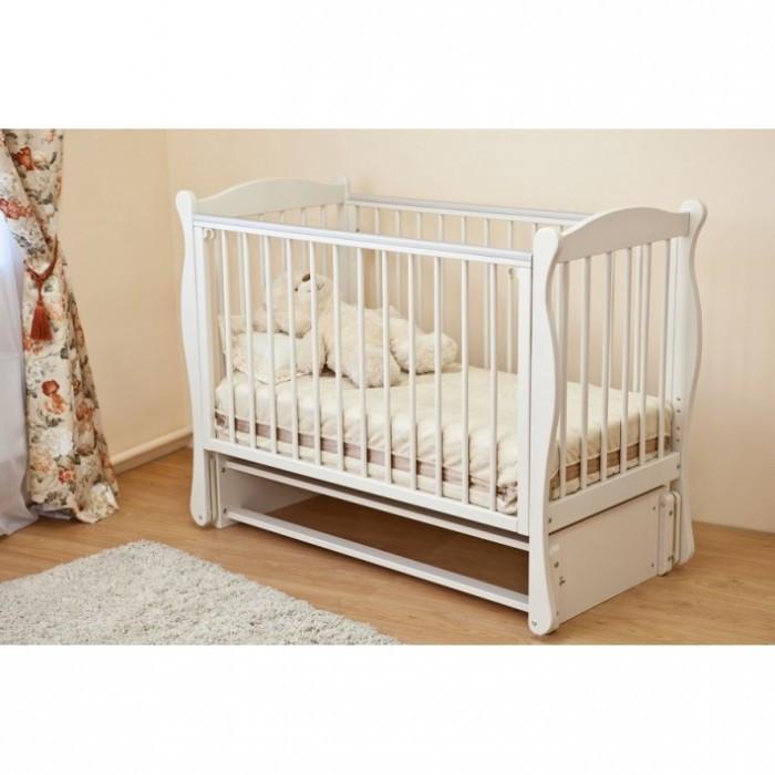 Купить Детские кроватки, Детская кроватка Можга (Красная Звезда) Уралочка продольный маятник