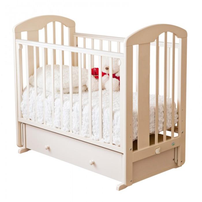 Детские кроватки Можга (Красная Звезда) Агата С-719 поперечный маятник кроватка с маятником красная звезда агата с718 белая накладка ростомер 11