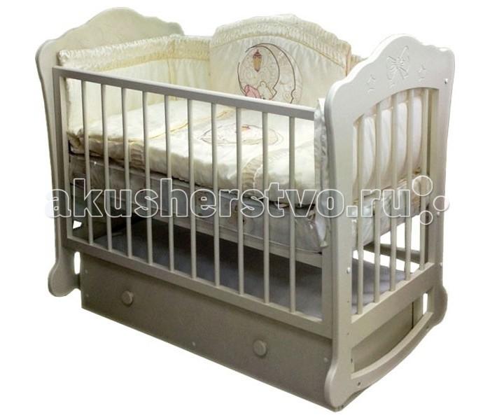 Детская кроватка Можгинский лесокомбинат Амалия поперечный маятник