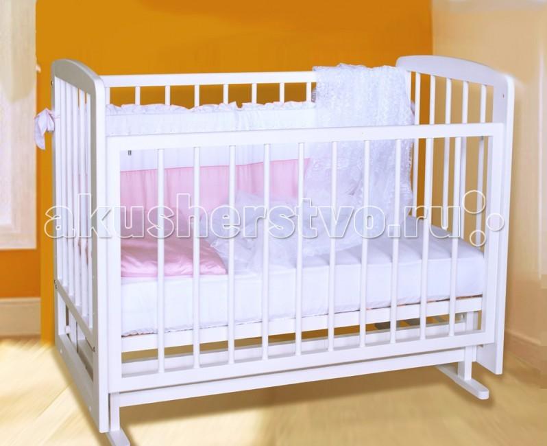 Детская кроватка Можгинский лесокомбинат Дарина поперечный маятник
