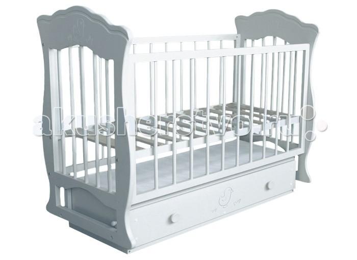 Детская кроватка Можгинский лесокомбинат Елена поперечный маятник