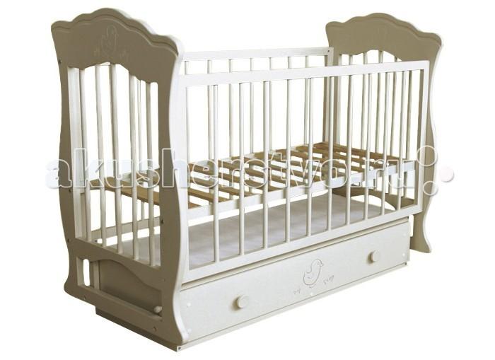 Купить Детские кроватки, Детская кроватка Можгинский лесокомбинат Елена поперечный маятник