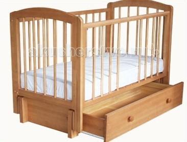 Купить Детские кроватки, Детская кроватка Можгинский лесокомбинат Кристина продольный маятник