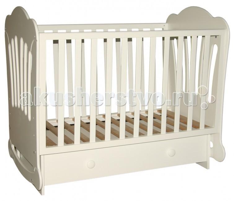 Детская кроватка Можгинский лесокомбинат Laluca Шарлотта поперечный маятник