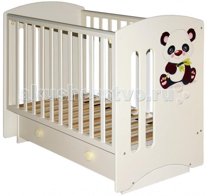 Детская мебель , Детские кроватки Можгинский лесокомбинат Laluca Софи Кроха панда арт: 76162 -  Детские кроватки