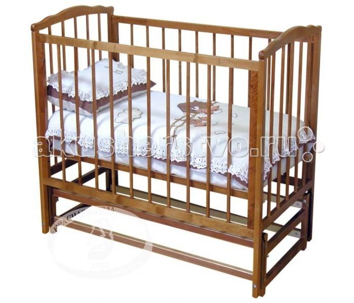 Детская кроватка Можга (Красная Звезда) С 614 Кристина (продольный маятник)