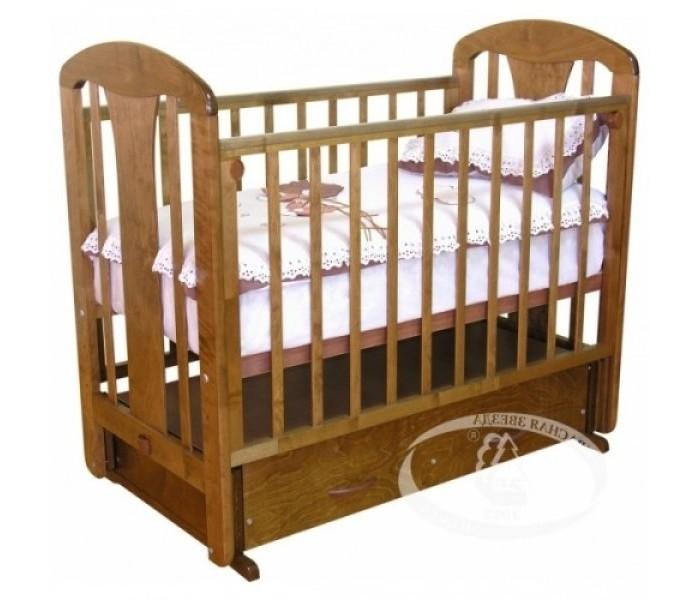 Детские кроватки Можга (Красная Звезда) Виталина С-853 поперечный маятник обычная кроватка красная звезда агата с718 шоколад