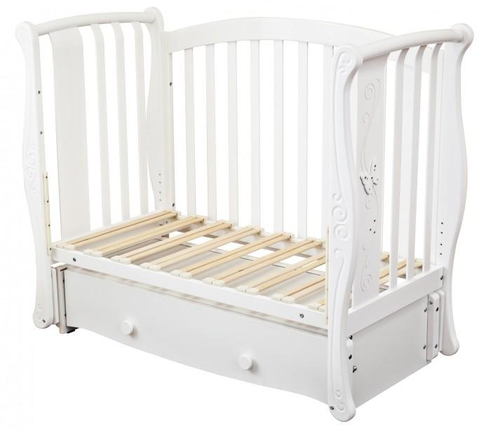 Детская кроватка Можга (Красная Звезда) Ярослава С 551 продольный маятник