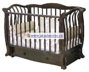 Детские кроватки Можга (Красная Звезда) Юлиан С-777 (маятник продольный) детские кроватки можга красная звезда валерия с 749 накладка 22 мишка на облаке