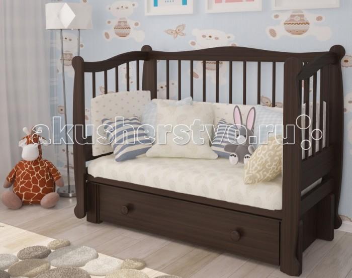 Детские кроватки Можгинский лесокомбинат Алиса продольный маятник детские кроватки kitelli kito amore продольный маятник
