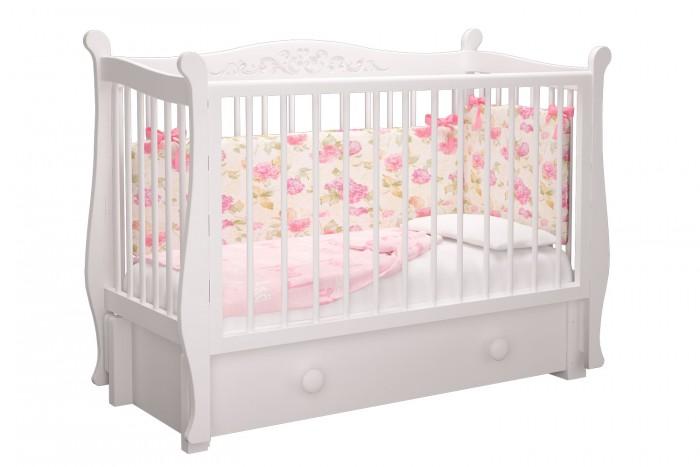 Купить Детские кроватки, Детская кроватка Можгинский лесокомбинат Джулия Милано продольный маятник