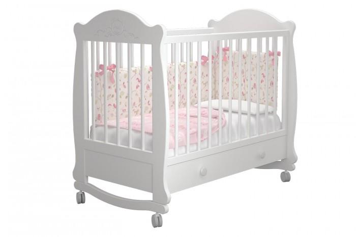 Купить Детские кроватки, Детская кроватка Можгинский лесокомбинат Мишутка-1 базовая с ящиком Милано