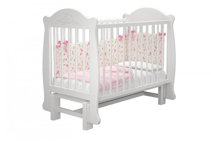 Купить Детские кроватки, Детская кроватка Можгинский лесокомбинат Мишутка-2 универсальный маятник Милано
