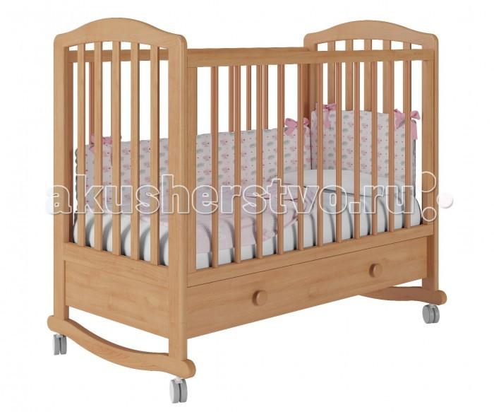 Купить Детские кроватки, Детская кроватка Можгинский лесокомбинат Пикколо-1 базовая с ящиком Милано
