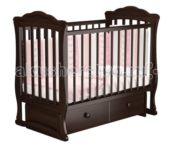 Детская кроватка Можгинский лесокомбинат Вэлла-4 универсальный маятник