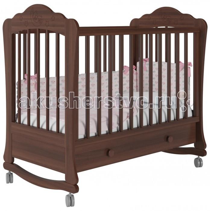 Купить Детские кроватки, Детская кроватка Можгинский лесокомбинат Амалия-1 базовая с ящиком Милано