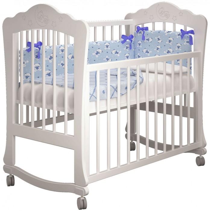 Купить Детские кроватки, Детская кроватка Можгинский лесокомбинат Амалия базовая Милано