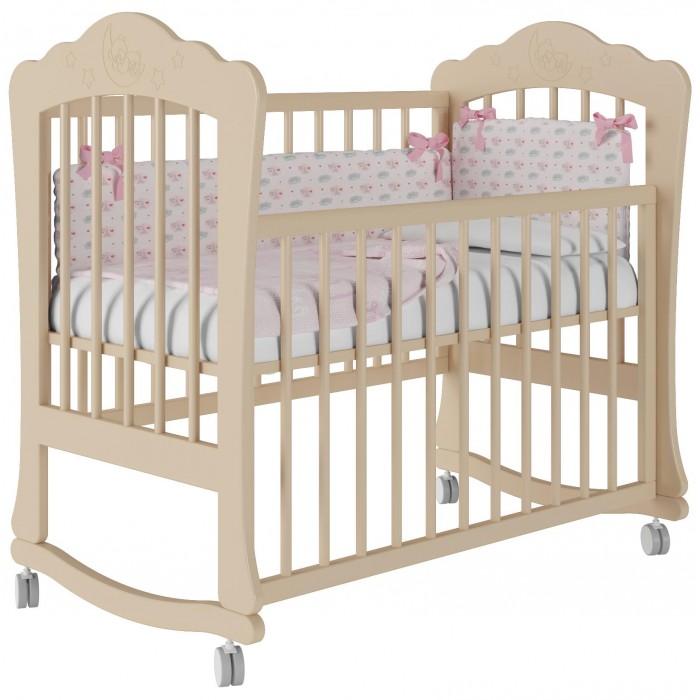 Детская кроватка Можгинский лесокомбинат Амалия базовая Милано