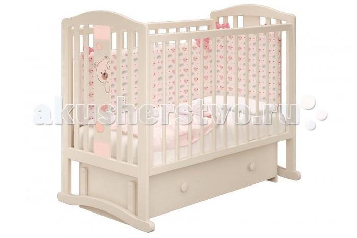 Детские кроватки Можгинский лесокомбинат Бьянка-3 универсальный маятник Милано