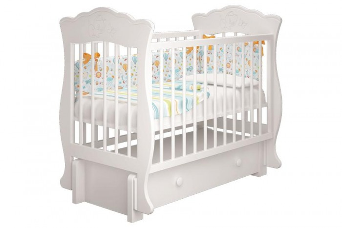Купить Детские кроватки, Детская кроватка Можгинский лесокомбинат Елена-3 универсальный маятник Милано
