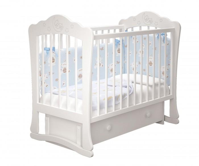 Купить Детские кроватки, Детская кроватка Можгинский лесокомбинат Амалия-3 универсальный маятник Милано