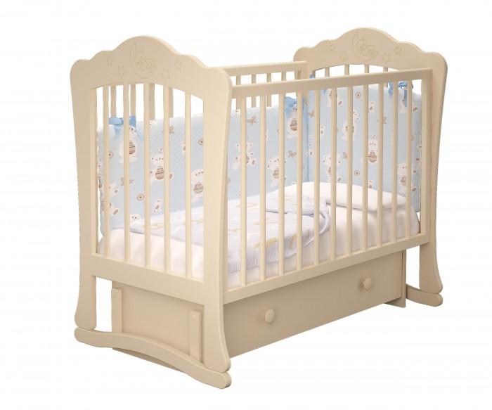 Детские кроватки Можгинский лесокомбинат Амалия-3 универсальный маятник Милано
