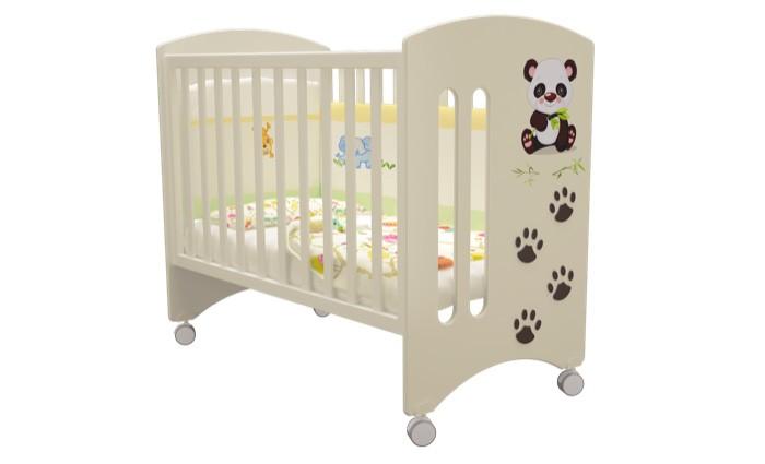 Детские кроватки Можгинский лесокомбинат Laluca Софи Кроха панда без ящика