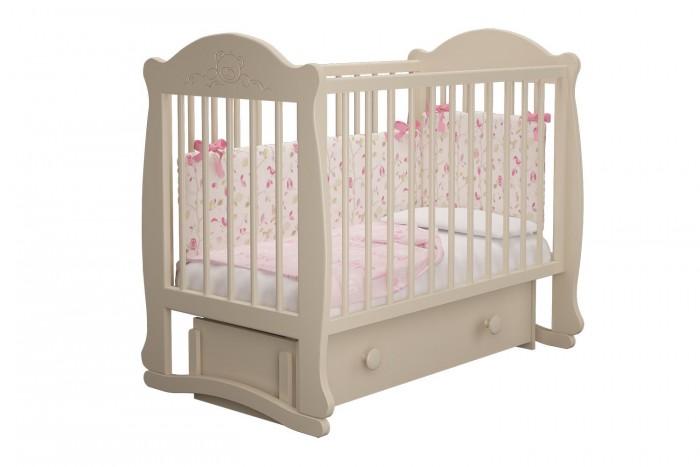 Купить Детские кроватки, Детская кроватка Можгинский лесокомбинат Мишутка-3 универсальный маятник Милано