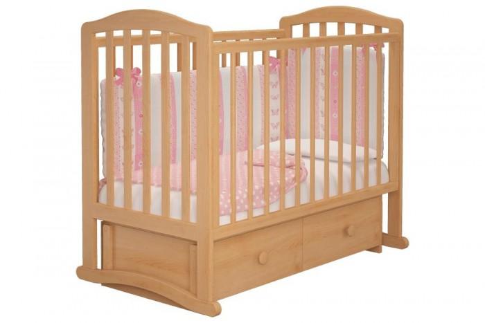 Детская кроватка Можгинский лесокомбинат Пикколо-3 универсальный маятник Милано