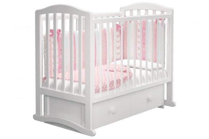 Купить Детские кроватки, Детская кроватка Можгинский лесокомбинат Пикколо-3 универсальный маятник Милано