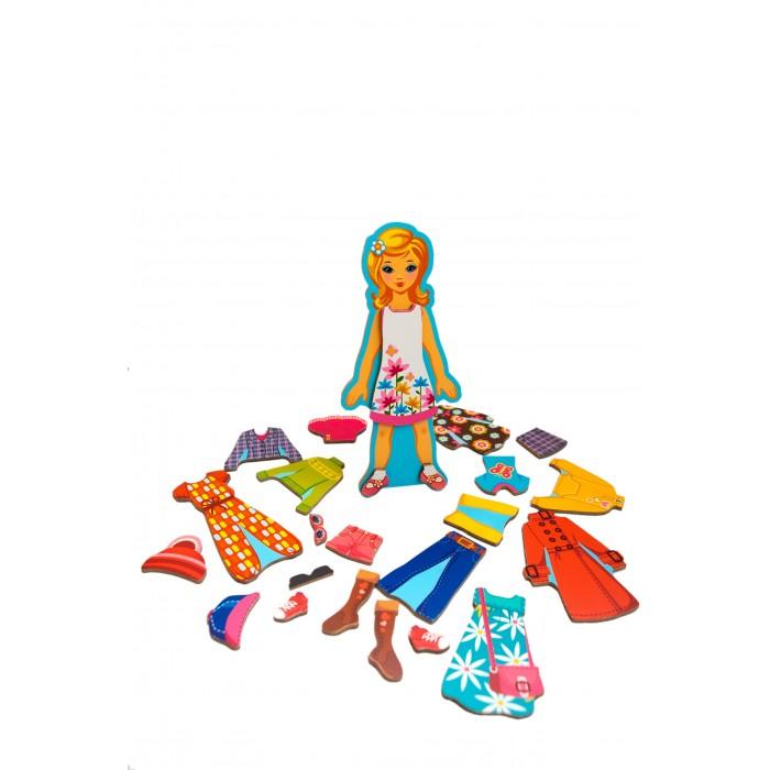 Деревянные игрушки Mr.Bigzy Модный гардеробчик одежда обувь и аксессуары
