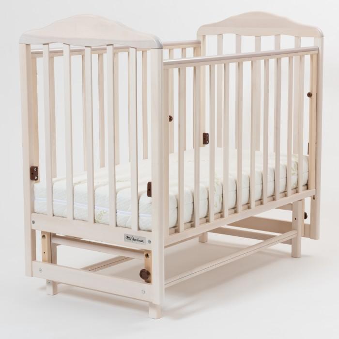 Детская кроватка Mr Sandman Nostalgia-3 маятник продольныйДетские кроватки<br>Кровать Mr Sandman Nostalgia-3 с маятником - выполнена из массива берёзы, благодаря классическому дизайну она займёт заслуженное место в детской комнате.   Закругленные края деталей - это безопасность вашего малыша, а опускающаяся передняя стенка обеспечит удобный доступ к малышу. Имеется продольный  маятник для укачивания малыша.  Особенности: массив берёзы - прочный и экологически чистый материал; функция качания маятник поперечный; два уровня ортопедического основания по высоте; опускаемая стенка для быстрого доступа к малышу; ПВХ-накладки на боковых стенках;  Характеристики: Материал: массив берёзы Ложе: двухуровневое 120х60 см Размер спального места: 120х60 см Механизм укачивания: маятник продольный Механизм опускания: фиксатор Накладка ПВХ: 2 Возраст ребёнка: от 0 месяцев до 3 лет Гарантийный срок: 12 месяцев Габариты кроватки: 115х125х72 см Габариты упаковки: 124х71х15 см Вес упаковки: 21 кг