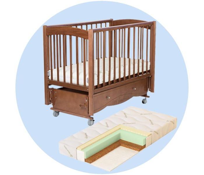 Детские кроватки Mr Sandman Pocket с матрасом Aloe Vera Sleep