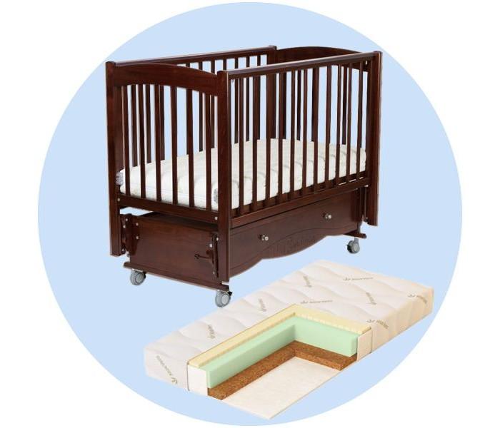 Детская кроватка Mr Sandman Pocket с матрасом Aloe Vera Sleep