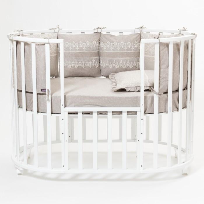 Бортик в кроватку Mr Sandman Triumph (12 подушек)Бортики в кроватку<br>Бортик в кроватку Mr Sandman Triumph (12 подушек) подарит уют и безопасность Вашему малышу во время сна!   Особенности: Такие бортики идеально подходят для любых кроваток (прямоугольных, овальных, круглых) Бортики в кроватку выполнены из 100% хлопка (сатина), который не теряет цвет после многократной стирки Гипоаллергенный наполнитель одобрен для новорожденных, не теряет своей формы и не деформируется при стирке. Такие бортики просты в уходе: деликатная стирка при температуре максимум 40 градусов 12 подушек 35х35 см.