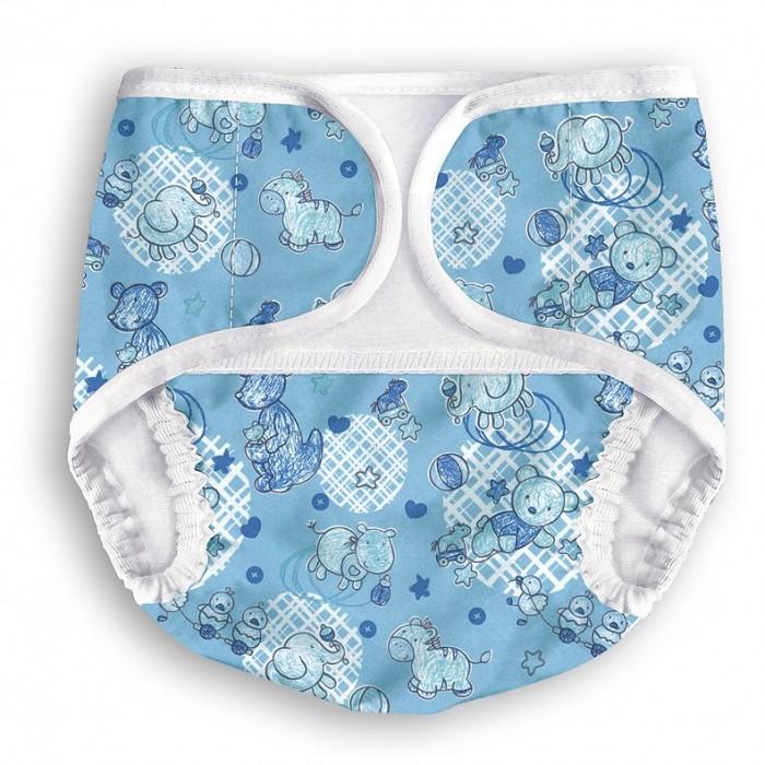 Многоразовые подгузники и трусики Multi-Diapers подгузники-трусики с карманом для вкладыша Бегемоты