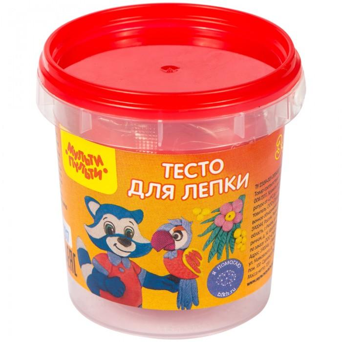 Всё для лепки Мульти-пульти Тесто для лепки Приключения Енота 120 г всё для лепки мульти пульти пластилин со стеком приключения енота 10 цветов 200 г