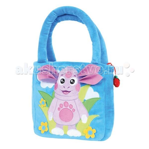 Сумки для детей Мульти-пульти Плюшевая сумка Лунтик лунтик развивающий набор лунтик фантазер