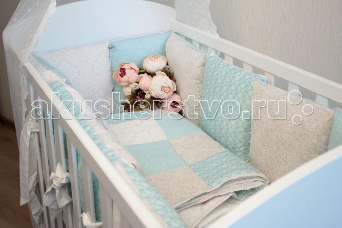 Постельные принадлежности , Бортики в кроватку Mummys Hugs БК10001 арт: 403039 -  Бортики в кроватку