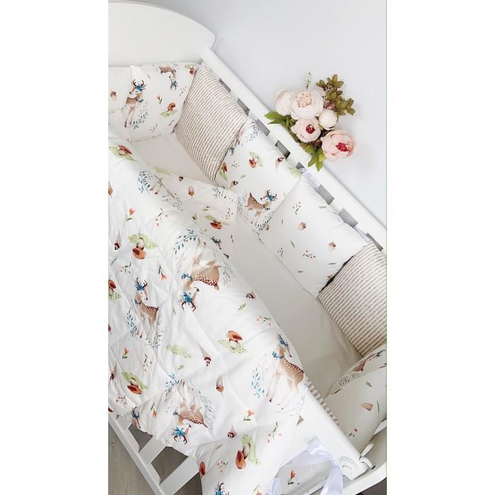 Комплект в кроватку Mummy's Hugs Forest Оленята (14 предметов)