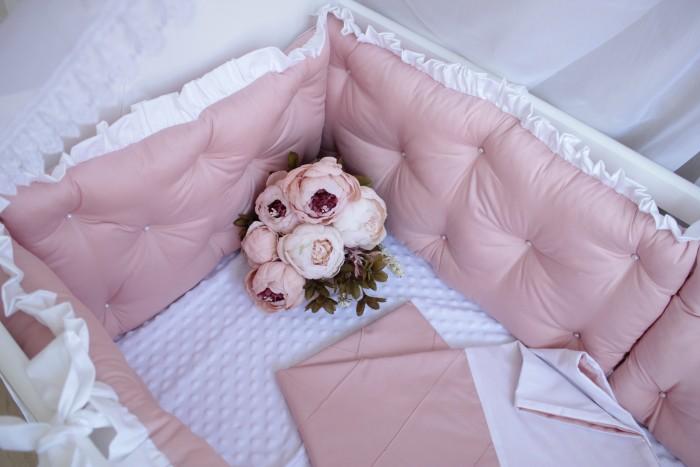 Комплекты в кроватку Mummys Hugs Нежность 120х60 см (7 предметов) комплекты в кроватку mummys hugs облака 125х65 см 7 предметов