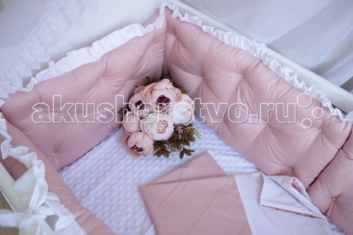 Постельные принадлежности , Комплекты в кроватку Mummys Hugs Нежность 125х65 см (7 предметов) арт: 499766 -  Комплекты в кроватку