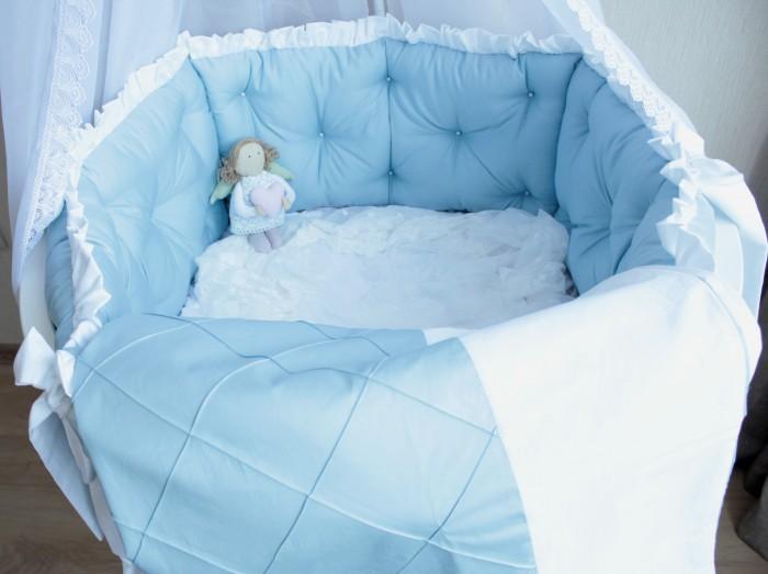 Постельные принадлежности , Комплекты в кроватку Mummys Hugs Облака 125х75 см (7 предметов) арт: 499696 -  Комплекты в кроватку