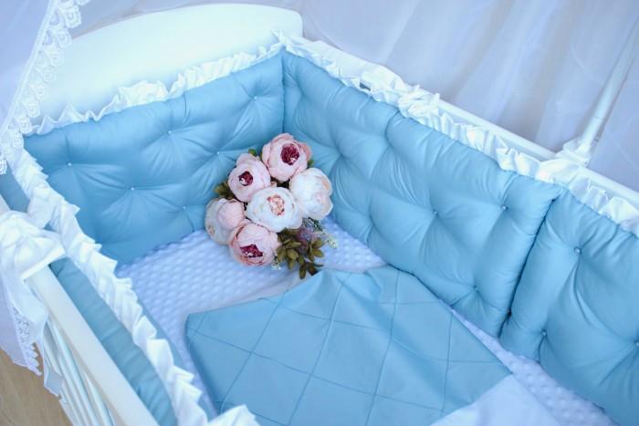 Постельные принадлежности , Комплекты в кроватку Mummys Hugs Облака 120х60 см (7 предметов) арт: 499651 -  Комплекты в кроватку