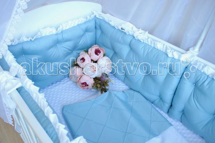 Постельные принадлежности , Комплекты в кроватку Mummys Hugs Облака 125х65 см (7 предметов) арт: 499741 -  Комплекты в кроватку