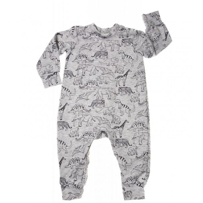 Пижамы и ночные сорочки Mums Era Комбинезон-пижама Джунгли конверты трансформеры mums era комбинезон конверт трикотаж