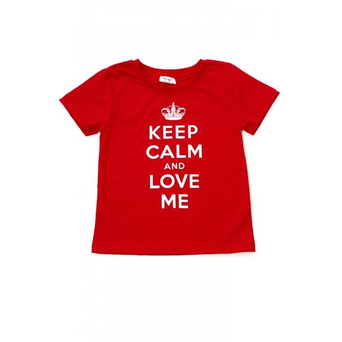 Футболки и топы Ехидна Детская футболка Keep calm